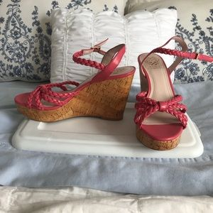 New Vince camuto wedges
